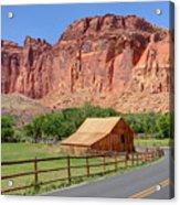 Gifford Homestead Barn - Capitol Reef National Park Acrylic Print