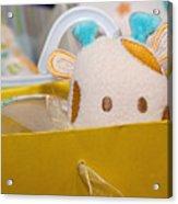 Gift Bag Peek-a-boo Acrylic Print