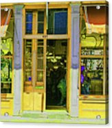 Gift Shop Windows Acrylic Print
