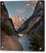 Gigerwaldsee Acrylic Print