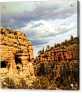 Gila Cliff Dwellings National Monument Acrylic Print