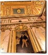 Gilded Ceiling Acrylic Print
