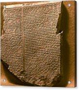 Gilgamesh, 7th Century B.c Acrylic Print