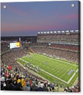 Gillette Stadium And New England Patriots Acrylic Print