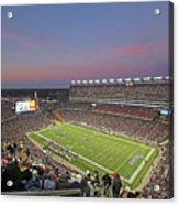 Gillette Stadium In Foxboro  Acrylic Print