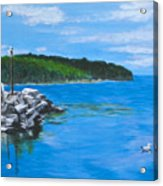 Gills Rock Acrylic Print
