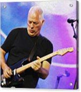 Gilmour Maroon Nixo Acrylic Print