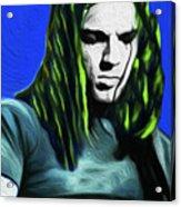 Gilmour Neon Nixo Acrylic Print