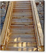 Gilpin County Museum Stairs Acrylic Print