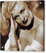 Ginger Rogers, Actress Acrylic Print