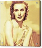 Ginger Rogers, Hollywood Legends Acrylic Print
