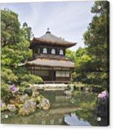 Ginkakuji Temple Acrylic Print by Rob Tilley