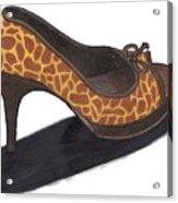 Giraffe Heels Acrylic Print