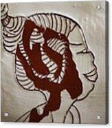 Girl - Tile Acrylic Print