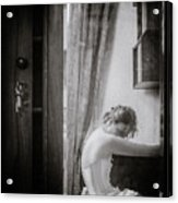 Girl #6825 Acrylic Print