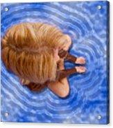 Girl C150786 Acrylic Print