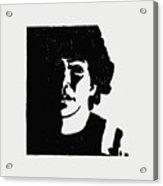 Girl In Shadow Acrylic Print