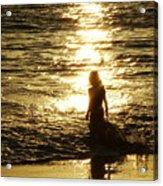 Girl In The Light Acrylic Print