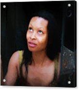 Girl In The Pool 17 Acrylic Print