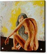 Girl Nude 1 Acrylic Print