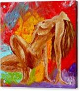 Girl Nude 2 Acrylic Print