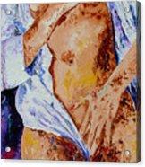 Girl nude 4 Acrylic Print