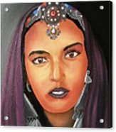 Girl Of Morocco Acrylic Print