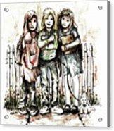Girlfriends Acrylic Print