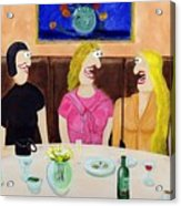 Girls Night Out Acrylic Print