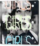 Girls Acrylic Print