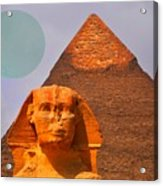 Giza Sphinx 2 Acrylic Print