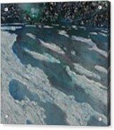 Glacial Moraine Acrylic Print