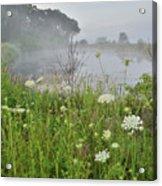 Glacial Park Pond Reflection Acrylic Print