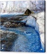 Glacial Stream Acrylic Print