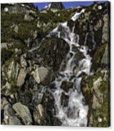 Glacial Waterfall Acrylic Print