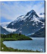 Glacier Alaska Lake  Acrylic Print