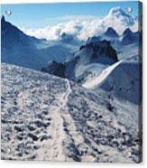 Glacier Blanche  Acrylic Print