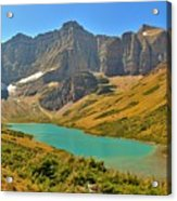 Glacier Cracker Lake Panorama Acrylic Print