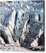 Glacier Detail Acrylic Print