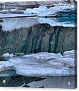 Glacier Iceberg Panorama Acrylic Print