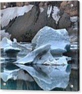 Glacier Iceberg Reflections Acrylic Print