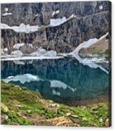 Glacier Icebergs Acrylic Print