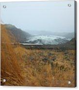 Glacier In The Distance Acrylic Print