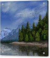 Glacier Naional Park Acrylic Print