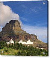 Glacier National Park At Logan Pass Acrylic Print