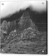 Glacier National Park Montana Horizontal Acrylic Print