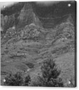 Glacier National Park Montana Vertical Acrylic Print