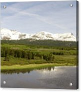Glacier National Park Scenic Acrylic Print