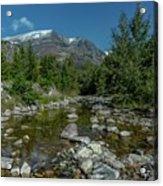 Glacier National Park-st Mary's River Acrylic Print