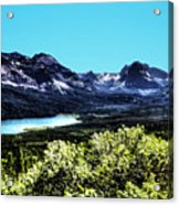 Glacier National Park Views Panorama No. 01 Acrylic Print